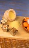 Vegetarian couscous ingredients Stock Image