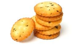 Vegetarian crackers Stock Photography