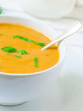 Vegetarian cream soup Royalty Free Stock Photography