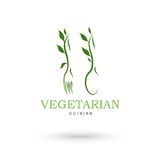 Vegetarian cuisine icons Royalty Free Stock Photo
