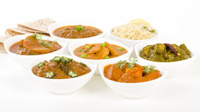 Vegetarian Curries Royalty Free Stock Image
