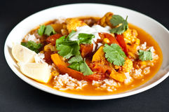 Vegetarian curry Royalty Free Stock Images