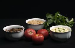 Vegetarian diet stock photos