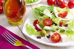 Vegetarian diet Stock Images