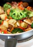 Vegetarian dinner Stock Photo