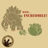 Vegetarian dinosaur Royalty Free Stock Photography