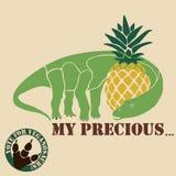 Vegetarian dinosaur Stock Photo