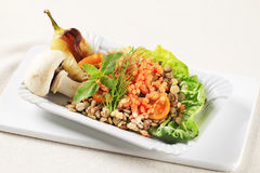 Vegetarian dish royalty free stock images