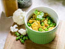 Vegetarian Dish - Cauliflower Curry Royalty Free Stock Photos