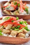 Vegetarian dish closeup Royalty Free Stock Photography