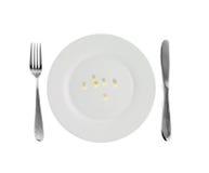 Vegetarian dish - millet Royalty Free Stock Photos