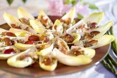 Vegetarian Endive Appetizer Stock Photo
