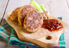 Vegetarian falafel Stock Photos