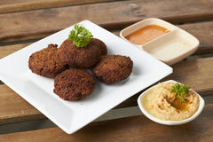 VEGETARIAN FALAFEL Royalty Free Stock Image