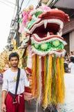 Vegetarian festival in Takua Pa Stock Photography