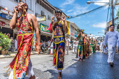 Vegetarian festival in Takua Pa Royalty Free Stock Photography