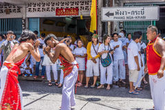 Vegetarian festival in Takua Pa Royalty Free Stock Photos