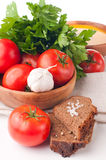 Vegetarian food Royalty Free Stock Images