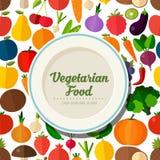 Vegetarian food background. Stock Image