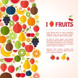 Vegetarian food background. Royalty Free Stock Images