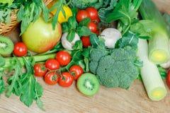 Vegetarian food - healthy diet Royalty Free Stock Images