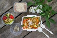 Vegetarian Food healthy food Stock Image