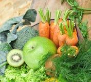 Vegetarian food - healthy food Stock Images