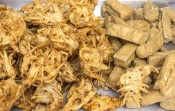 Vegetarian Fried Food Fotografering för Bildbyråer