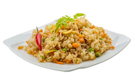 Vegetarian fried rice Royalty Free Stock Photos