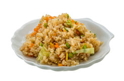 Vegetarian fried rice Royalty Free Stock Photo