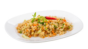 Vegetarian fried rice Royalty Free Stock Photography