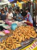 Vegetarian fried snack, Bangkok, Thailand Stock Photos