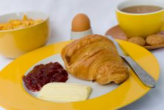Vegetarian-gourmet breakfast stock images