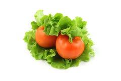 Vegetarian hamburger Stock Images