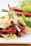 Vegetarian lasagna Royalty Free Stock Photos