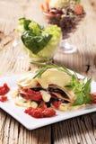 Vegetarian Lasagna Royalty Free Stock Image