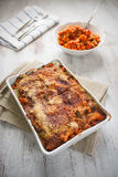 Vegetarian lasagne Stock Photos