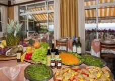 Vegetarian lunch Stock Photo