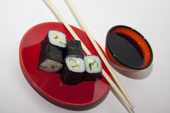 Vegetarian maki Stock Photography