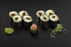 Vegetarian Maki Sushi Stock Photography