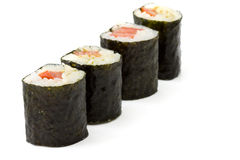 Vegetarian Makizushi Royalty Free Stock Images