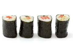Vegetarian Makizushi Stock Images