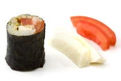 Vegetarian Makizushi Stock Image