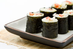 Vegetarian Makizushi Royalty Free Stock Image