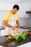 Vegetarian man Stock Images