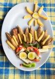 Vegetarian masala pakoda Royalty Free Stock Photography