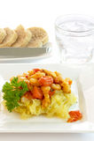 Vegetarian meal Stock Photography