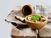 Vegetarian meal Stock Photo
