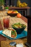 Vegetarian meatball sandwich Stock Image