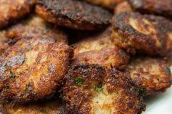 Vegetarian meatballs close up Stock Photography